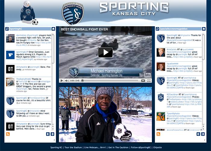 Sporting KC Snowday