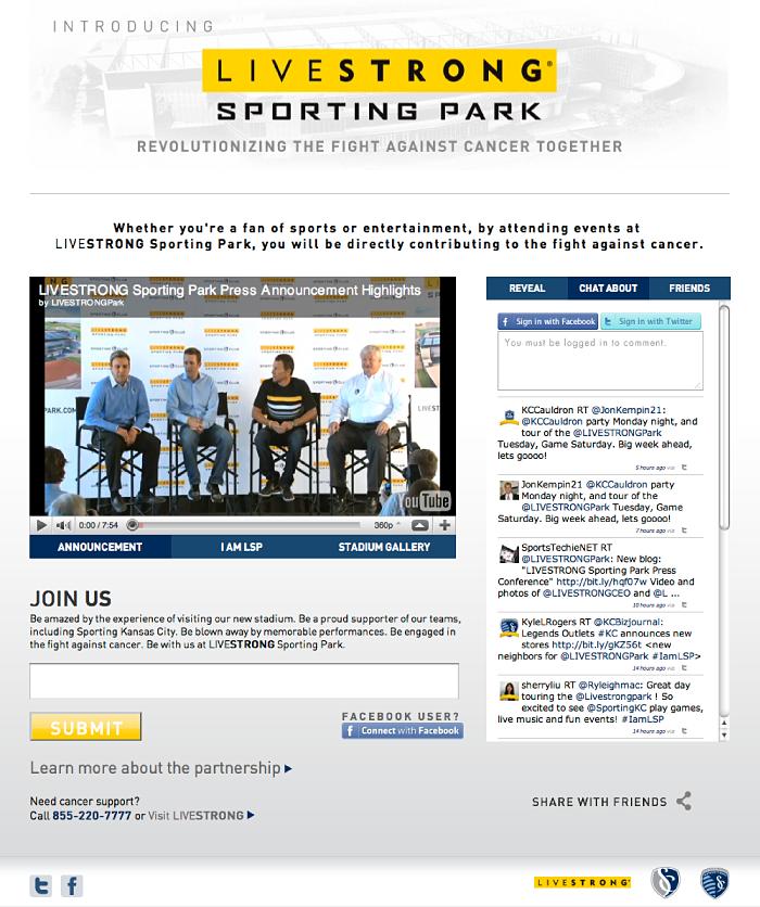 Sporting Park Naming