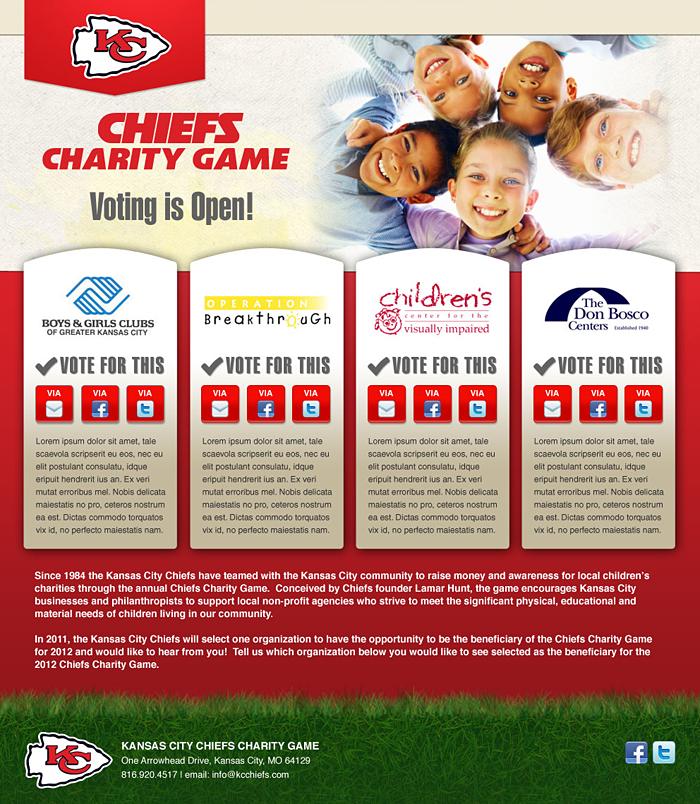Chiefs Charity